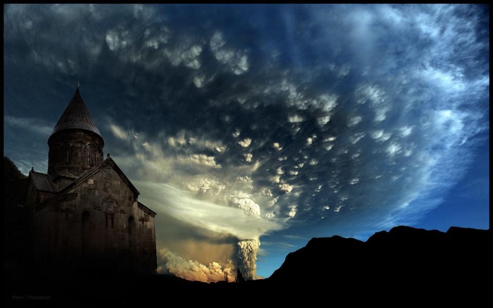 Գեղարդ Early morning, Geghard Monastery