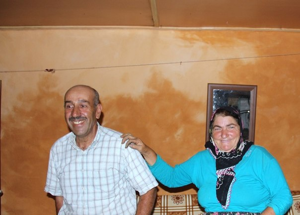 Рафаэль Алтинци, последний армянин Амасии, дома с женой./ А. Хаджян