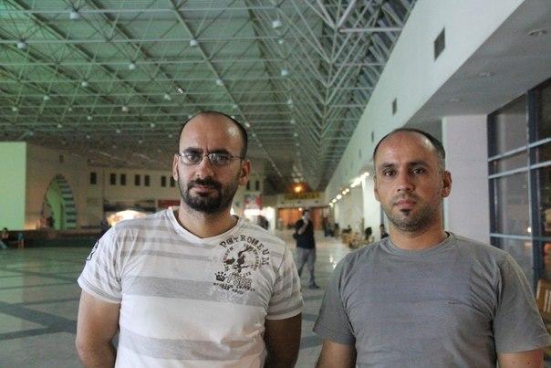 """Мехмет и Фатих Аркан, армяне-мусульмане из Диярбакыра. Десять лет назад, он все еще боялся признать, что он армянин, """"но сейчас это безопасно в Диярбакыре,"""" говорит Мехмет. / А. Хаджян"""