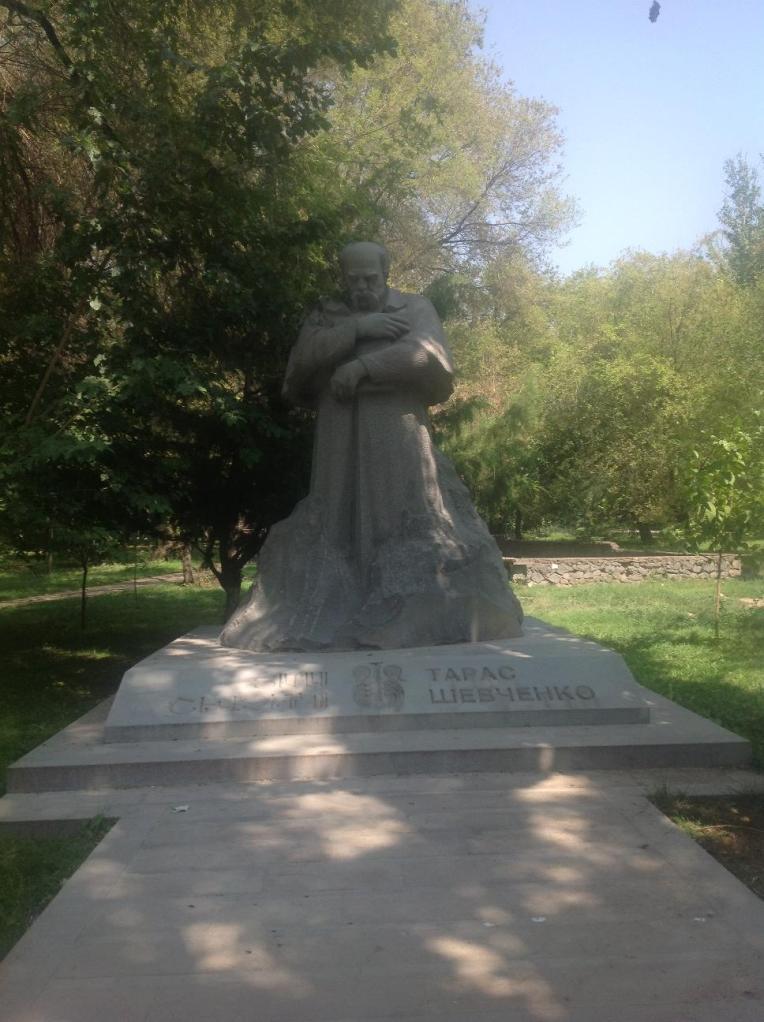 Украинский писатель Тарас Шевченко