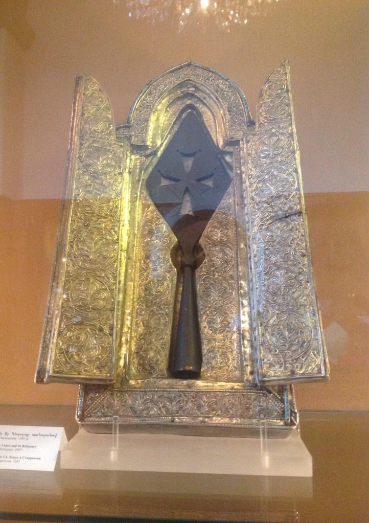 """""""Святое копье"""" - одна из важнейших реликвий христианства."""