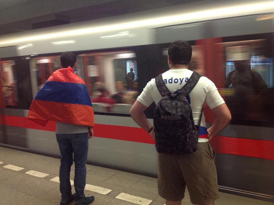 Армяне в Праге