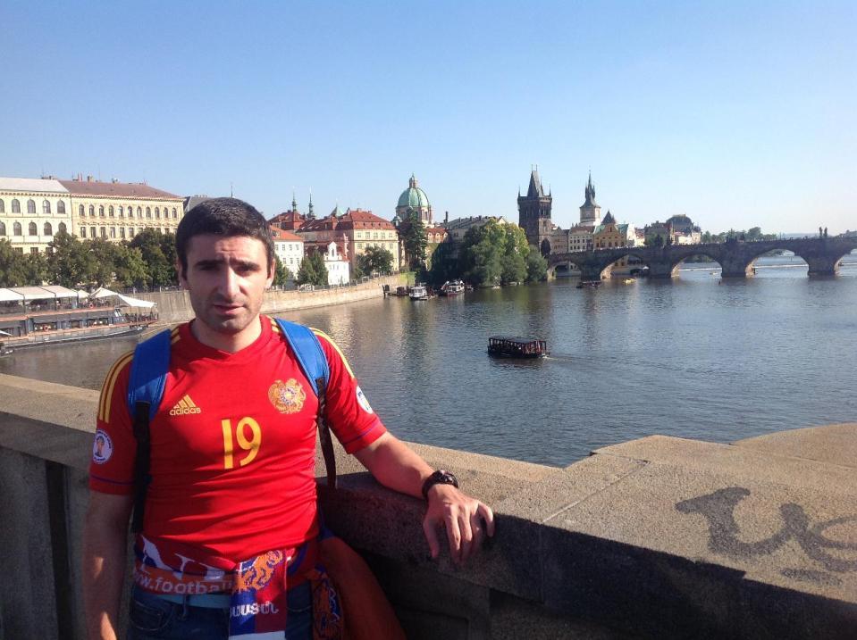 Роберт Цатурян в Праге